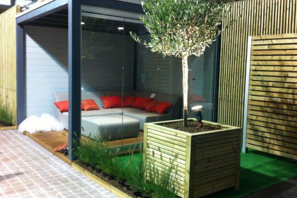 abri de jardin moderne salon de jardin