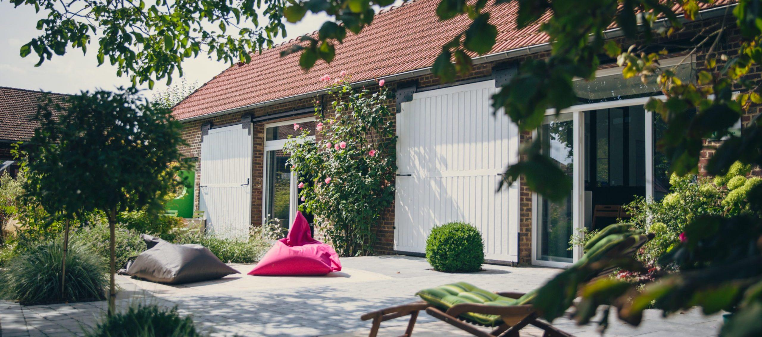 Colver créateur jardin paysagiste noyon oise compiègne exposition show room accueil