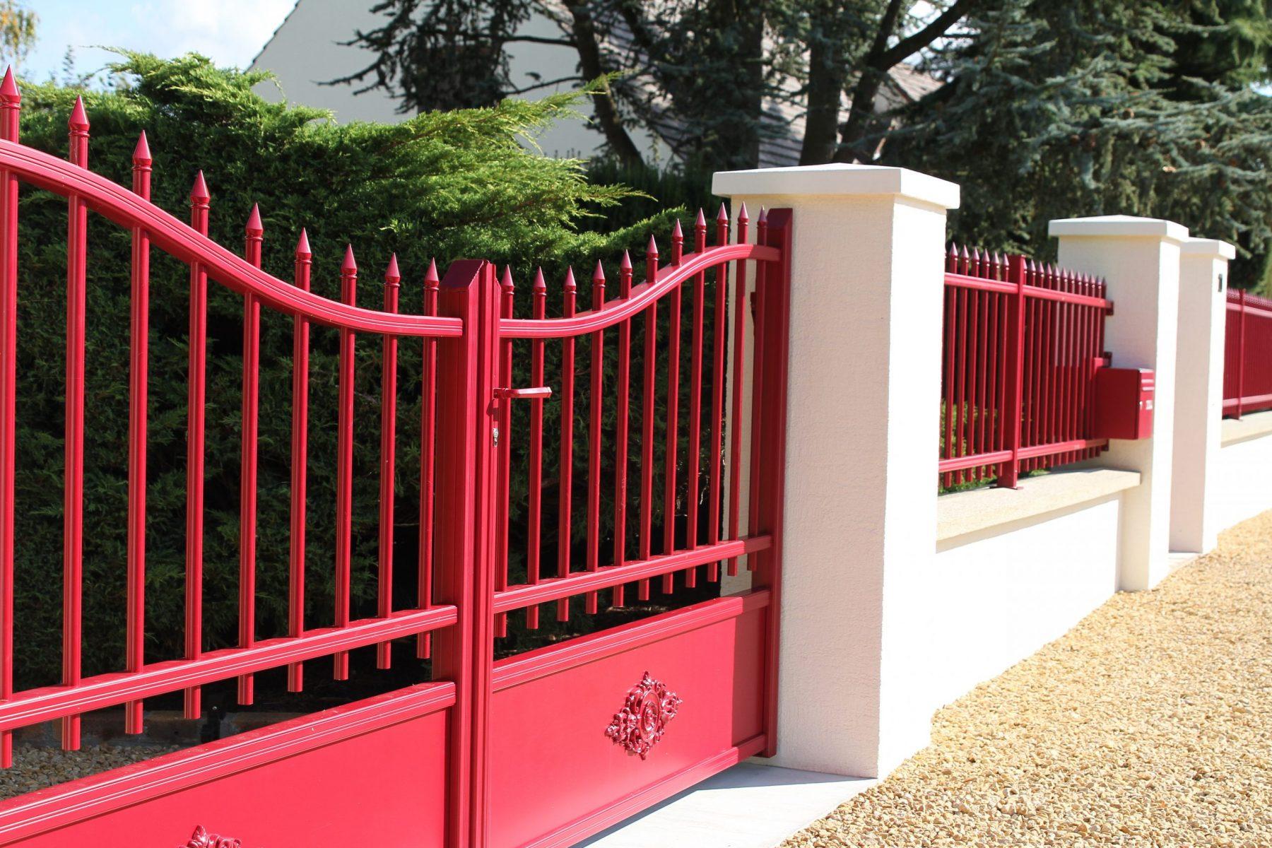 Colver créateur jardin paysagiste oise noyon compiègne aménagement portail clôture aluminium fer forgé automatisé
