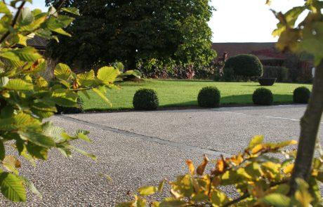 Colver créateur jardin paysagiste oise noyon compiègne cour allée béton désactivé bordure pavé