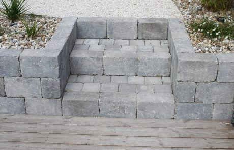 colver paysagiste jardin oise noyon compiègne escalier pierre reconstituée
